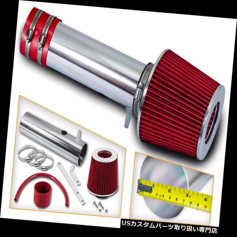 エアインテーク インナーダクト ショートラムエアインテークキット+ 05-06ホンダオデッセイ3.5 V 6用REDフィルター Short Ram Air Intake Kit +RED Filter For 05-06 Honda Odyssey 3.5 V6
