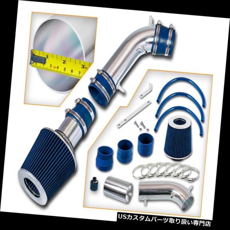 エアインテーク インナーダクト 95-98トヨタT-100タコマ3.4L V6用RAMエアインテークキット+ブルーフィルター RAM AIR INTAKE KIT + BLUE FILTER For 95-98 Toyota T-100 Tacoma 3.4L V6
