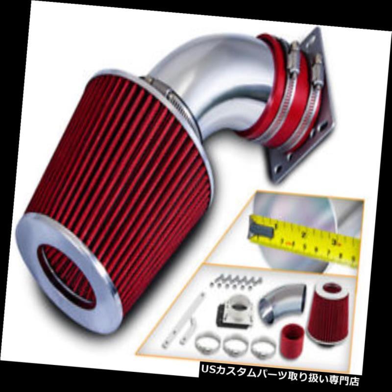 エアインテーク インナーダクト ショートラムエアインテークキット+ 98-01フォードレンジャー/マツダB3000 3.0L V6用REDフィルター Short Ram Air Intake Kit + RED Filter for 98-01 Ford Ranger /Mazda B3000 3.0L V6