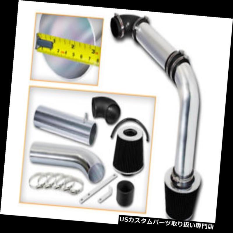 エアインテーク インナーダクト ブラックコールドエアインテークキット+ DYGE 95-00 AVENGER 2.0L 2.5L用ドライフィルター BLACK COLD AIR INTAKE KIT+ DRY FILTER FOR DODGE 95-00 AVENGER 2.0L 2.5L
