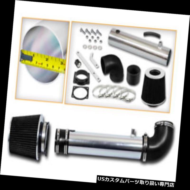 エアインテーク インナーダクト RAM AIRインテークキット+ブラックドライフィルターマツダ95-00 B4000ピックアップ4.0L OHV V6 RAM AIR INTAKE KIT + BLACK DRY Filter For Mazda 95-00 B4000 Pickup 4.0L OHV V6