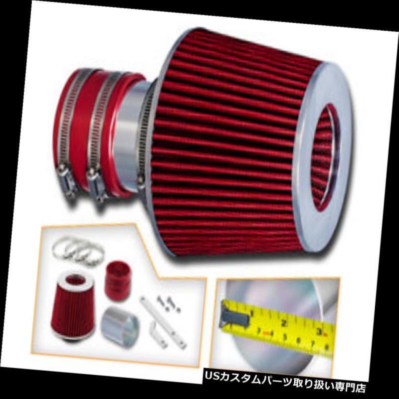 エアインテーク インナーダクト RAMエアインテークキット+レッドエアフィルター94-96シボレーベレッタZ26 3.1L V6用フィット RAM AIR INTAKE KIT + RED AIR FILTER Fit For 94-96 Chevy Beretta Z26 3.1L V6