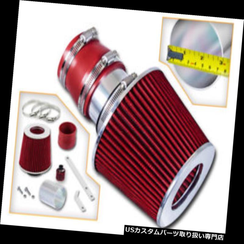 エアインテーク インナーダクト 00-06アウディTT / TTクアトロレーシング用RAM AIR INTAKEキット+ REDフィルター RAM AIR INTAKE Kit + RED Filter For 00-06 Audi TT / TT Quattro Racing