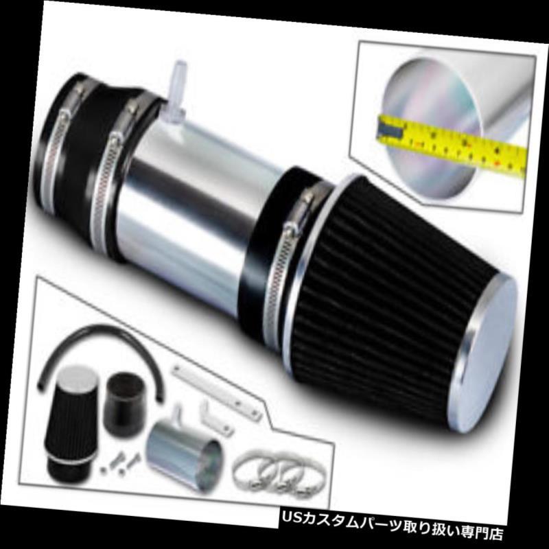 エアインテーク インナーダクト 03-07用スポーツRAMエアインテークキット+ブラックフィルターHonda Accord 3.0L V6 SPORT RAM AIR INTAKE KIT + BLACK FILTER FOR 03-07 Honda Accord 3.0L V6