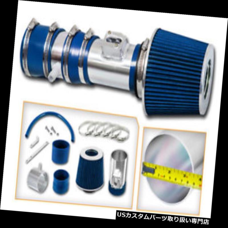 エアインテーク インナーダクト Ramエアインテークキット+ 12-17アカディアエンクレーブトラバース3.6L V6用ブルードライフィルター Ram Air Intake Kit + BLUE Dry Filter for 12-17 Acadia Enclave Traverse 3.6L V6