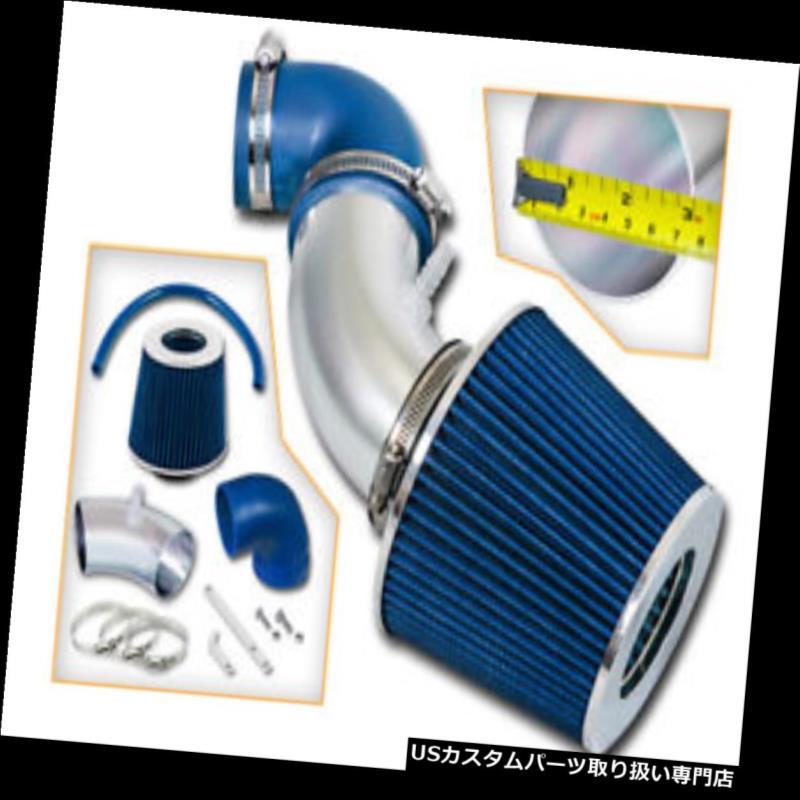 エアインテーク インナーダクト ホンダ06 07 08フィット1.5L SOHC NA L4用スポーツエアインテークキット+ブルードライフィルター Sport Air Intake Kit + BLUE Dry Filter for Honda 06 07 08 Fit 1.5L SOHC NA L4