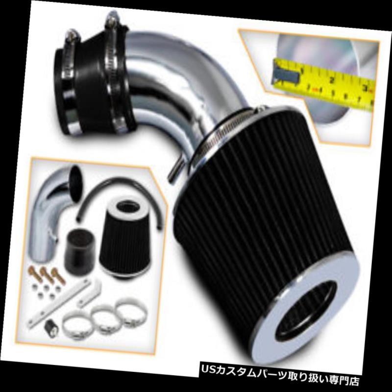 エアインテーク インナーダクト 01-05ヒュンダイアクセント1.6L L4のためのRam空気誘導インテークキット+ドライフィルター Ram Air Induction Intake Kit +DRY FILTER For 01-05 Hyun Accent 1.6L L4