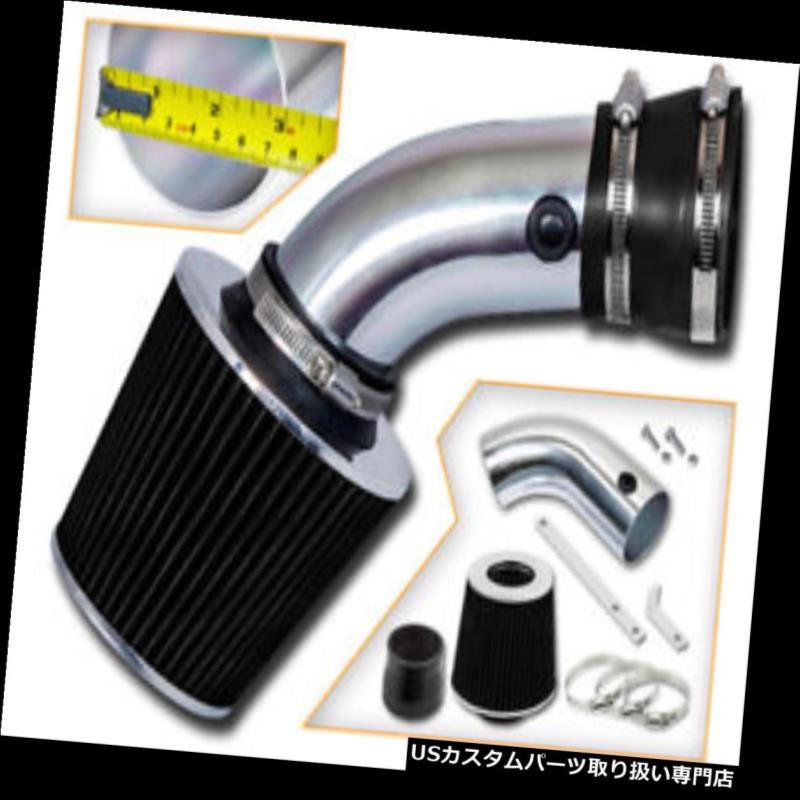 エアインテーク インナーダクト 93-01 BMW E34 E39 540i 4.0 L 4.4 L V 8のための吸気の吸気+黒のドライフィルター Induction Air Intake + Black Dry Filter For 93-01 BMW E34 E39 540i 4.0L 4.4L V8