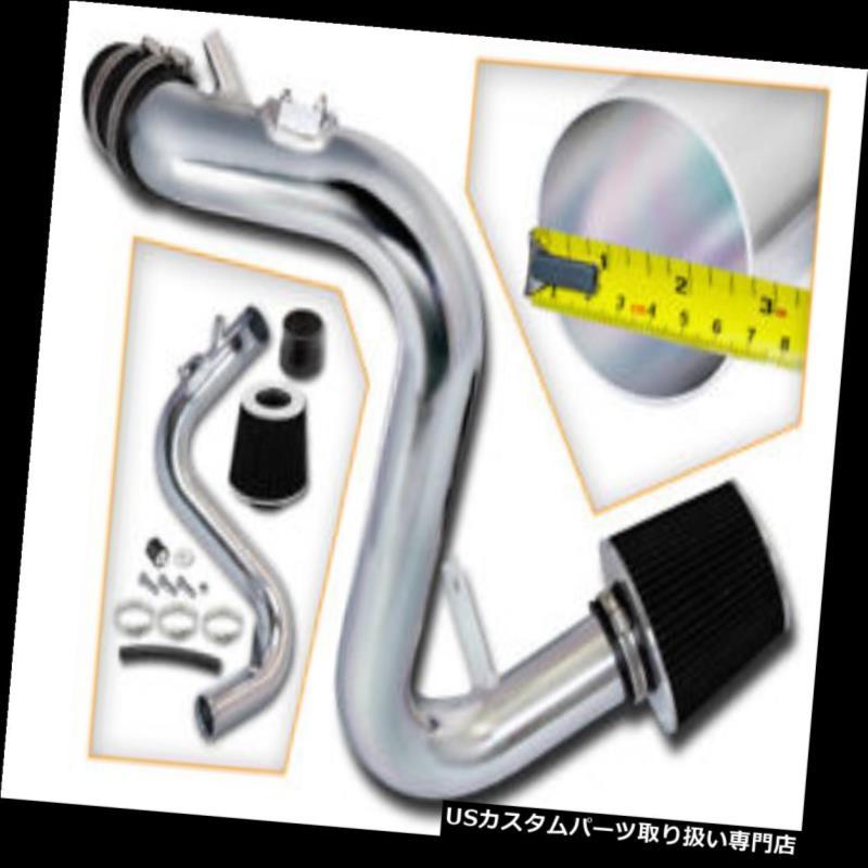 エアインテーク インナーダクト 07-13 Mazdaspeed 3 2.3Lターボ用ブラックコールドエアーインテークキット+フィルターフィット Black Cold Air Induction intake kit+Filter Fit for 07-13 Mazdaspeed 3 2.3L Turbo