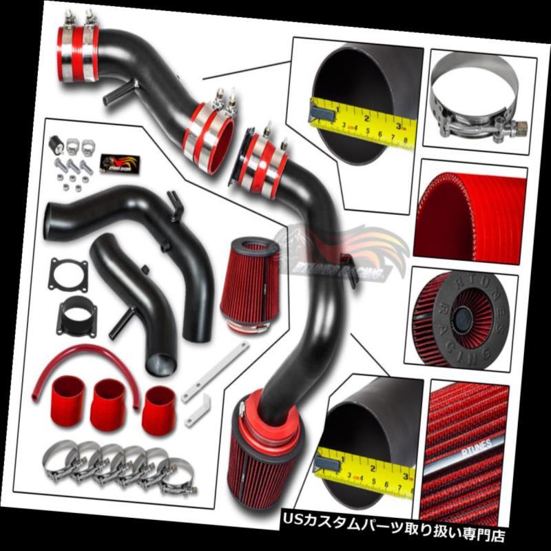エアインテーク インナーダクト マットブラックコールドエアインテーク+ドライフィルターフィット日産02-06セントラSER SPEC 2.5L L4 MATTE BLACK COLD AIR INTAKE+DRY FILTER Fit Nissan 02-06 Sentra SER SPEC 2.5L L4