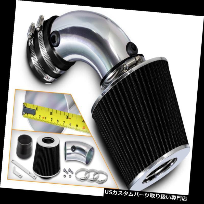 エアインテーク インナーダクト 91-93 Lumina Cutlass Supreme 3.4L V6用ショートラムエアインテークキット+ブラックフィルター Short Ram Air Intake Kit + BLACK Filter For 91-93 Lumina Cutlass Supreme 3.4L V6