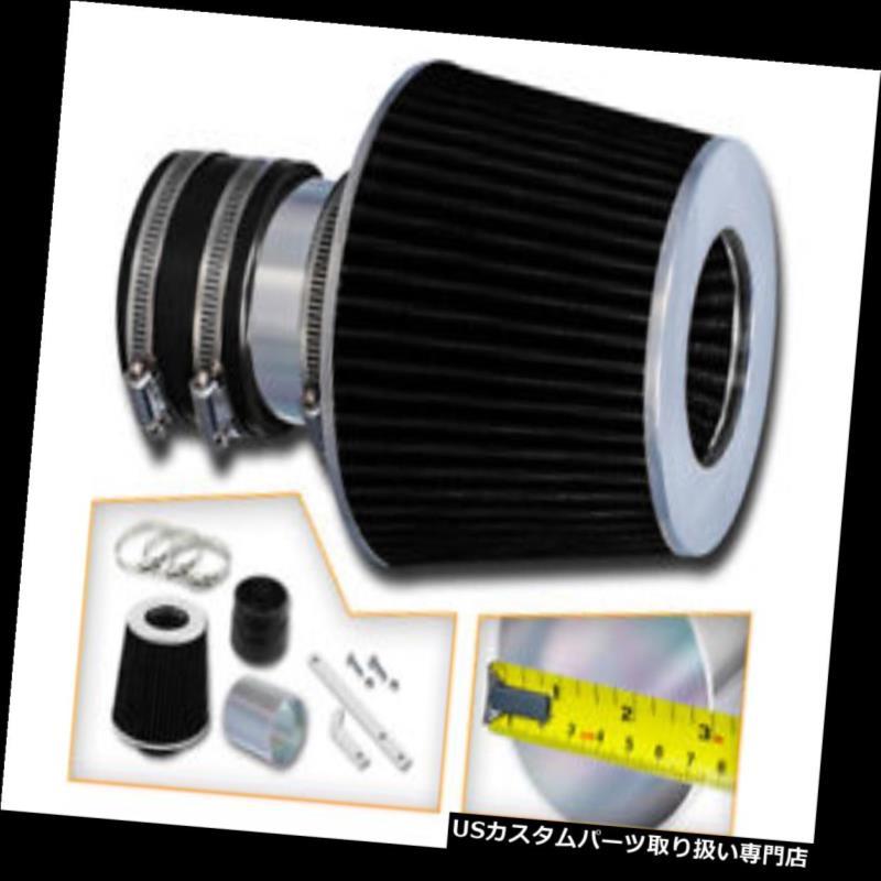 エアインテーク インナーダクト RAMエアインテークキット+ブラックエアフィルターフィット94-96シボレーベレッタZ26 3.1L V6 RAM AIR INTAKE KIT + BLACK AIR FILTER Fit For 94-96 Chevy Beretta Z26 3.1L V6