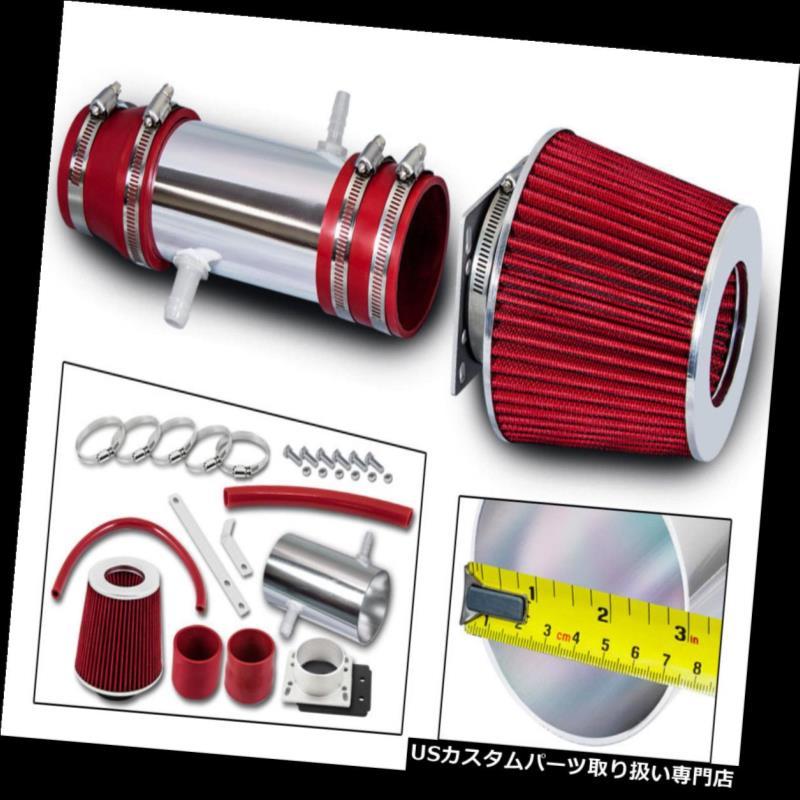 エアインテーク インナーダクト 92-96レクサスES300 /カムリ3.0 V6 RAMエアインテークキット+レッドフィルター 92-96 Lexus ES300/Camry 3.0 V6 RAM AIR INTAKE KIT +RED FILTER