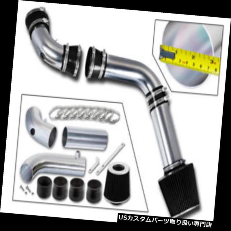 エアインテーク インナーダクト 94-97カマロZ28 /ポンティアックトランスAM 5.7L V8のための黒い冷たい空気の摂取キット+フィルター BLACK COLD AIR INTAKE KIT+FILTER FOR 94-97 Camaro Z28/Pontiac Trans AM 5.7L V8