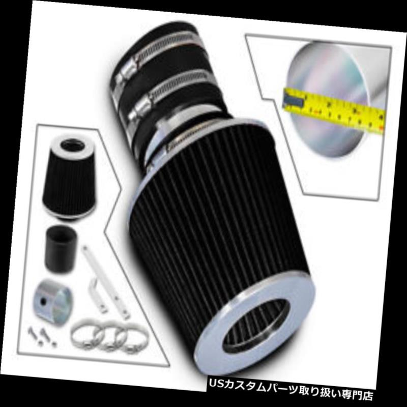 エアインテーク インナーダクト Ramエアインテークキット+ 01-06 Kia Optima L4 V6 / 00-04スペクトルL4用ブラックフィルター Ram Air Intake Kit + BLACK Filter For 01-06 Kia Optima L4 V6 / 00-04 Spectra L4