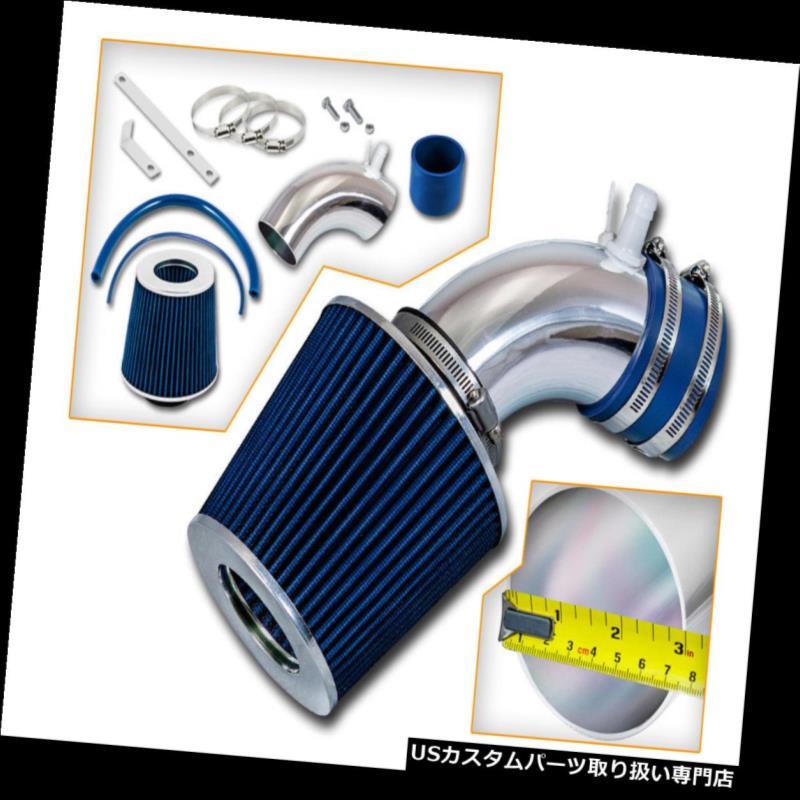 BLACK BLUE AIR INTAKE KIT fit 2002-2006 NISSAN ALTIMA MURANO 3.5L V6 ENGINE