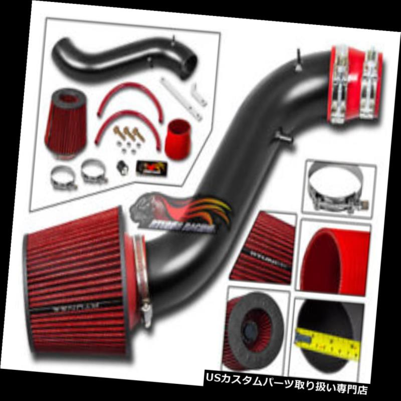 RED COLD AIR INTAKE KIT+DRY FILTER FOR Scion 07-10 tC Coupe 2.4L L4