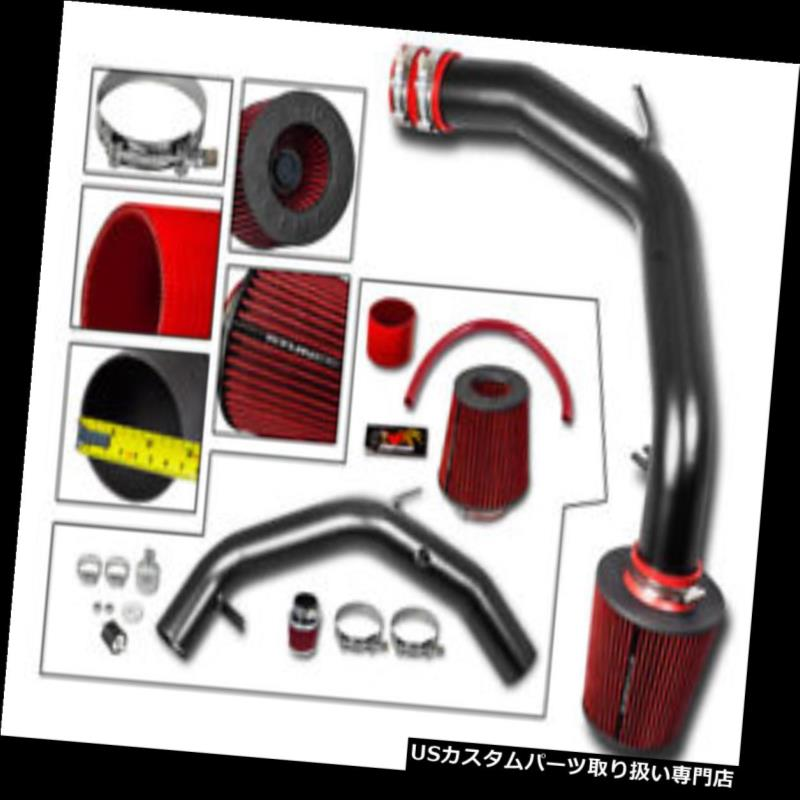 """RED 3.0 Inches 3.0/"""" Inlet 76mm Cold Air Intake Cone Dry Filter For Infiniti"""