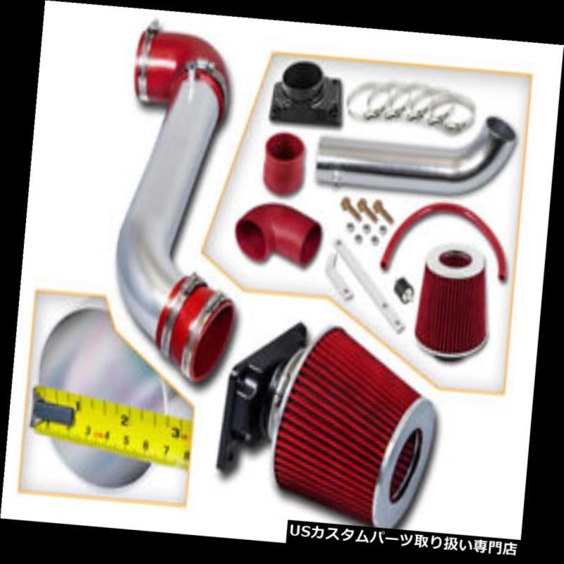 エアインテーク インナーダクト 01-05 Sebring 2.4 3.0 RAM AIR INTAKEキット+ REDフィルター 01-05 Sebring 2.4 3.0 RAM AIR INTAKE Kit +RED Filter