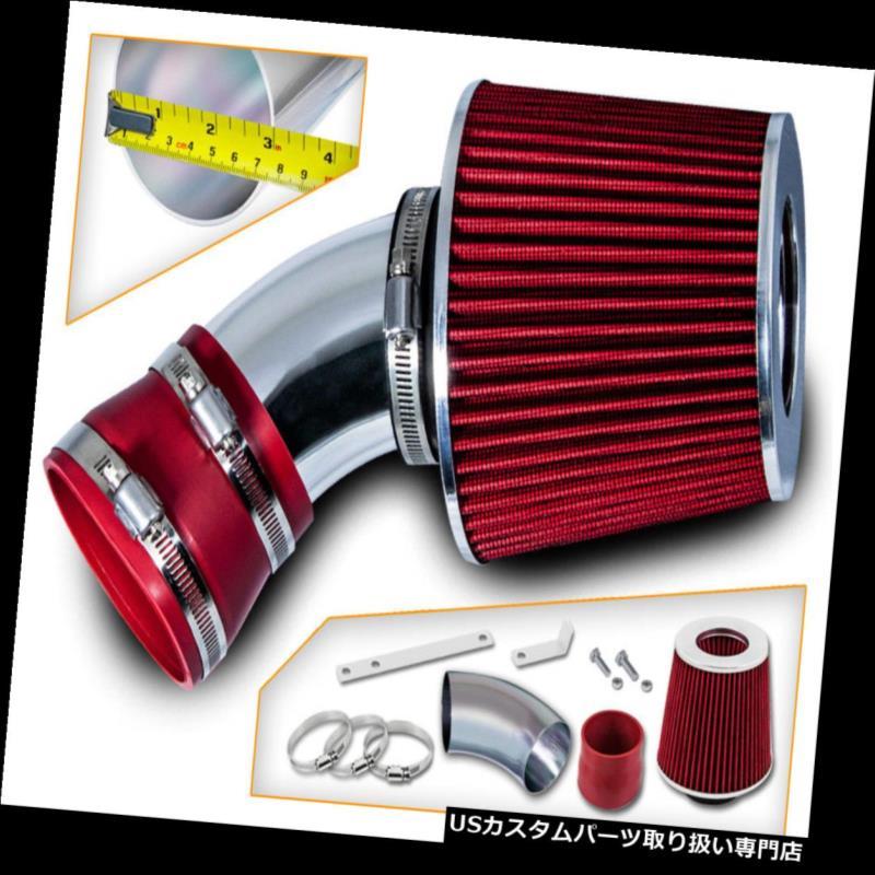 エアインテーク インナーダクト 00-03 BMW X 5 E 53 3.0 L 4.4 L 4.6 L 4.8 L用ショートラム空気取り入れキット+赤フィルター Short Ram Air Intake Kit + RED Filter For 00-03 BMW X5 E53 3.0L 4.4L 4.6L 4.8L