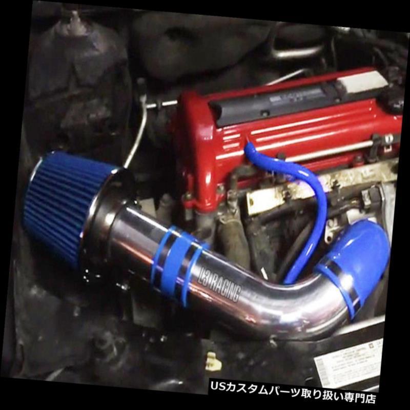 BLACK BLUE 2007 2008 2009 PONTIAC G5 2.2 2.2L 2.4 2.4L I4 COLD AIR INTAKE KIT