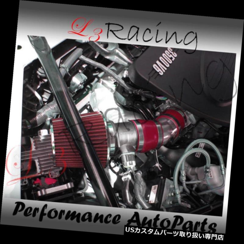 エアインテーク インナーダクト 06-08シボレーモンテカルロ3.5 3.9 V6 RAMエアインテークキット+ RED FILTER 06-08 Chevy Monte Carlo 3.5 3.9 V6 RAM AIR INTAKE KIT +RED FILTER