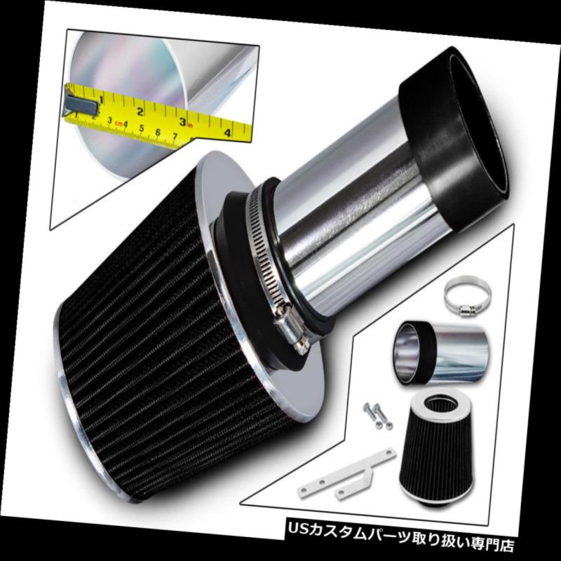 エアインテーク インナーダクト スポーツ用吸気システム+ 93-04クライスラー300M LHSビジョン3.3 3.5用ドライフィルター Sport Air Intake System + Dry Filter For 93-04 Chrysler 300M LHS Vision 3.3 3.5