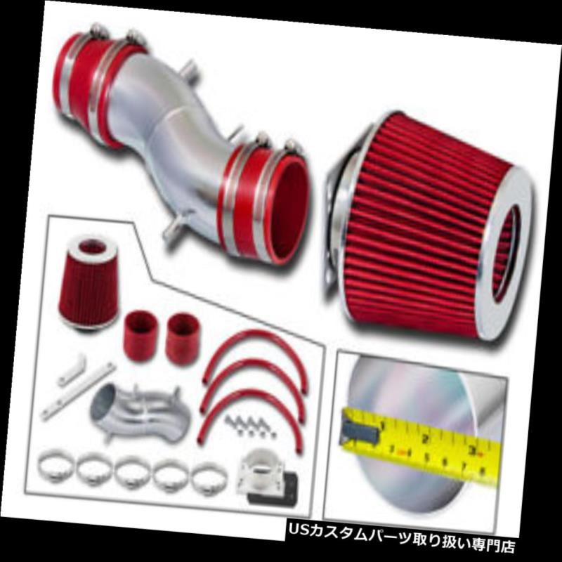 エアインテーク インナーダクト 93-97用Altima / 91-99 Sentra 200SX G20 2.0L RAMエアインテークキット+ REDフィルター For 93-97 Altima / 91-99 Sentra 200SX G20 2.0L RAM AIR INTAKE Kit + RED Filter
