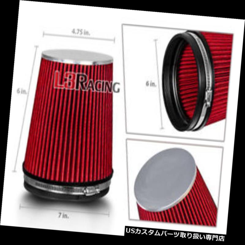 """BLUE 6 Inches 6/"""" 152mm Inlet Cold Air Intake Cone Long TRUCK FILTER For Audi"""
