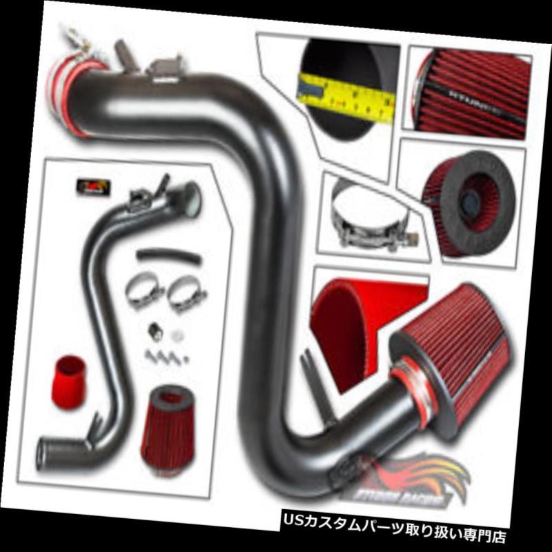 USエアインテーク インナーダクト 07-13 Mazdaspeed 3 2.3Lターボ用コールドエアインテークキットマットブラック+フィルター Cold Air Intake Kit MATT BLACK + Filter For 07-13 Mazdaspeed 3 2.3L Turbo