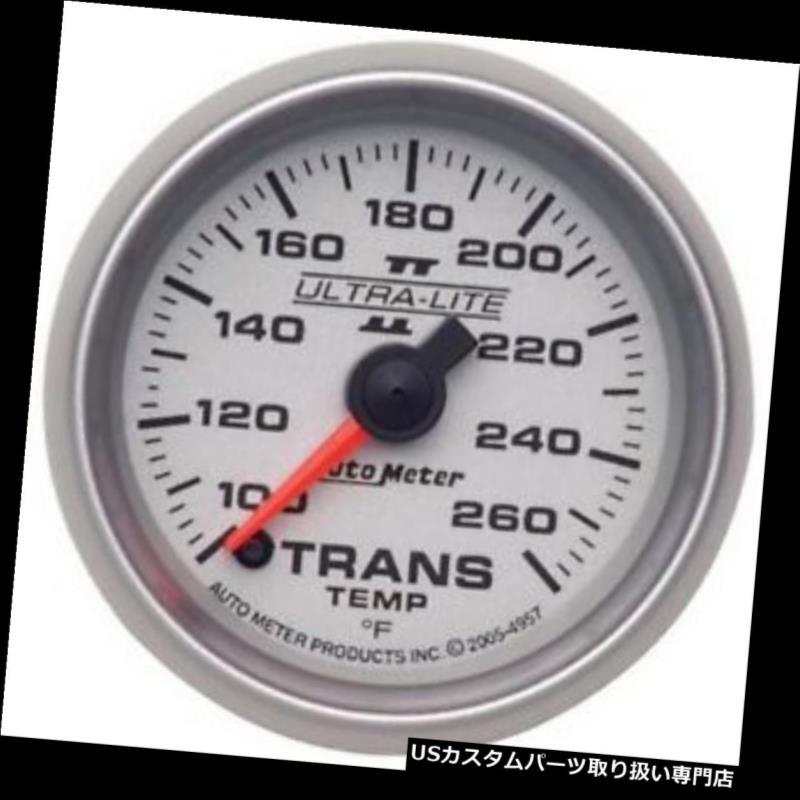 USタコメーター オートメーター4957ウルトラライトIIデジタルステッピングモータートランス温度計 Auto Meter 4957 Ultra-Lite II Digital Stepper Motor Trans Temp Gauge