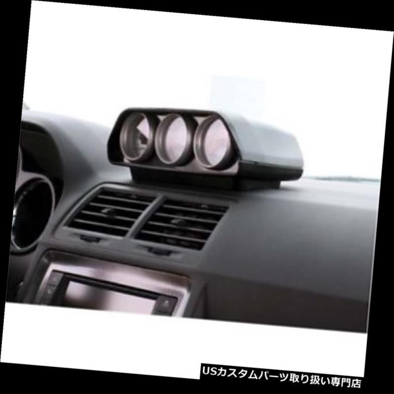 USタコメーター オートメーター5287ダイレクトフィットトリプルゲージダッシュトップポッド、チャレンジャー Auto Meter 5287 Direct Fit Triple Gauge Dash Top Pod, Challenger