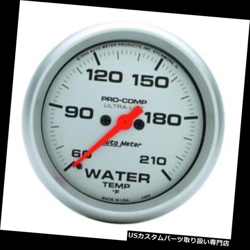 USタコメーター オートメーター4469超軽量デジタルステッピングモーター水温計 Auto Meter 4469 Ultra-Lite Digital Stepper Motor Water Temp Gauge