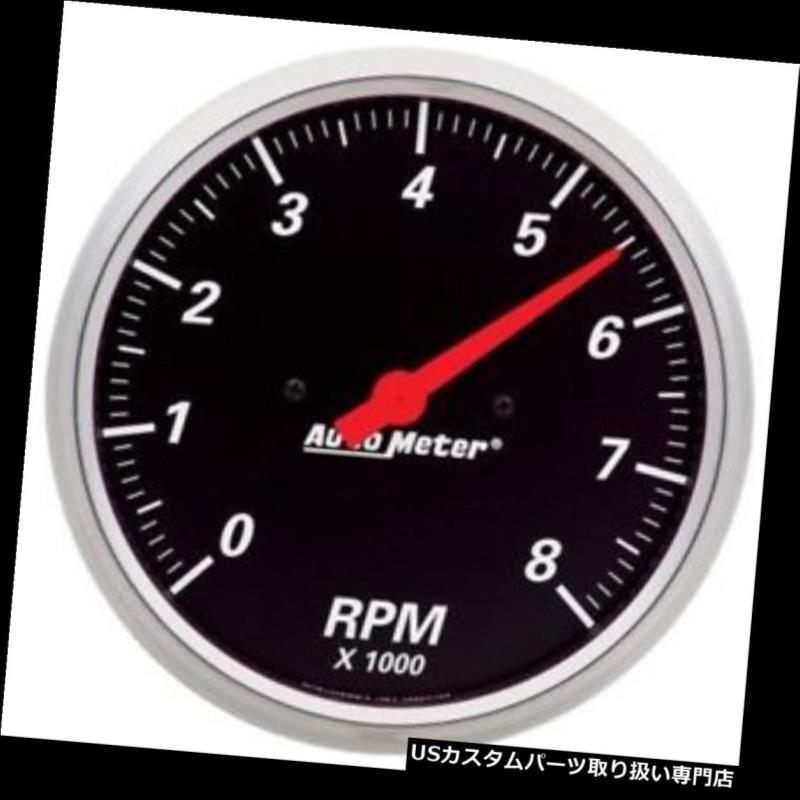 USタコメーター オートメーター1499デザイナーブラックエアコアインダッシュタコメーターゲージ Auto Meter 1499 Designer Black Air-Core In-Dash Tachometer Gauge