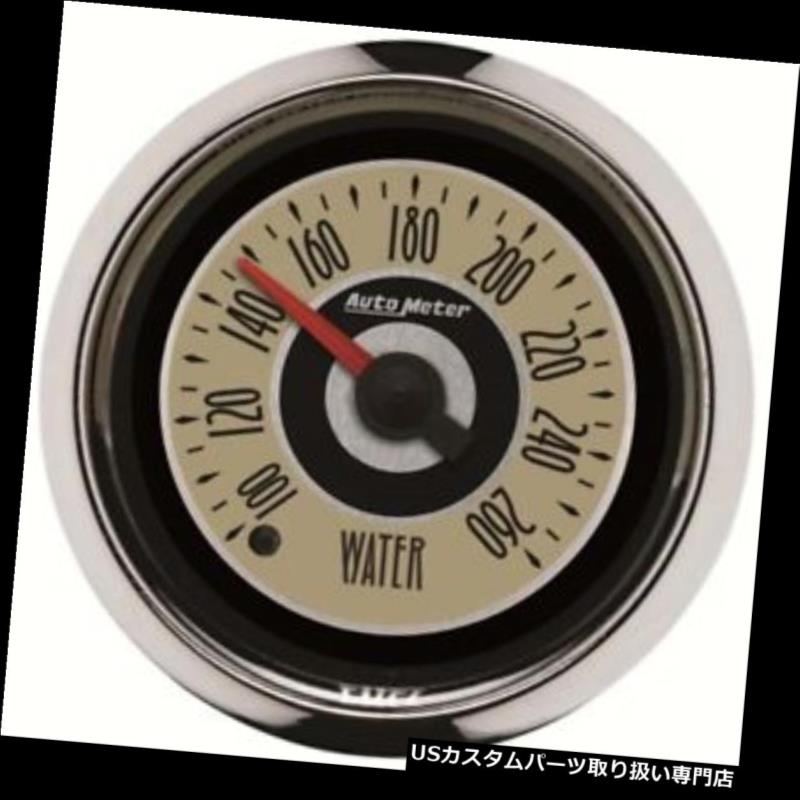 USタコメーター 自動メートル1155の巡洋艦のデジタルステッピングモーターの水温のゲージ Auto Meter 1155 Cruiser Digital Stepper Motor Water Temperature Gauge