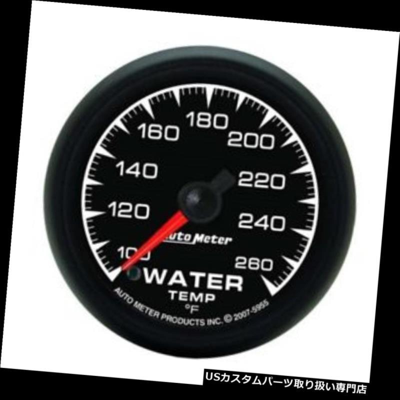 USタコメーター 自動メーター5955 ESデジタルステッピングモーター水温計 Auto Meter 5955 ES Digital Stepper Motor Water Temperature Gauge