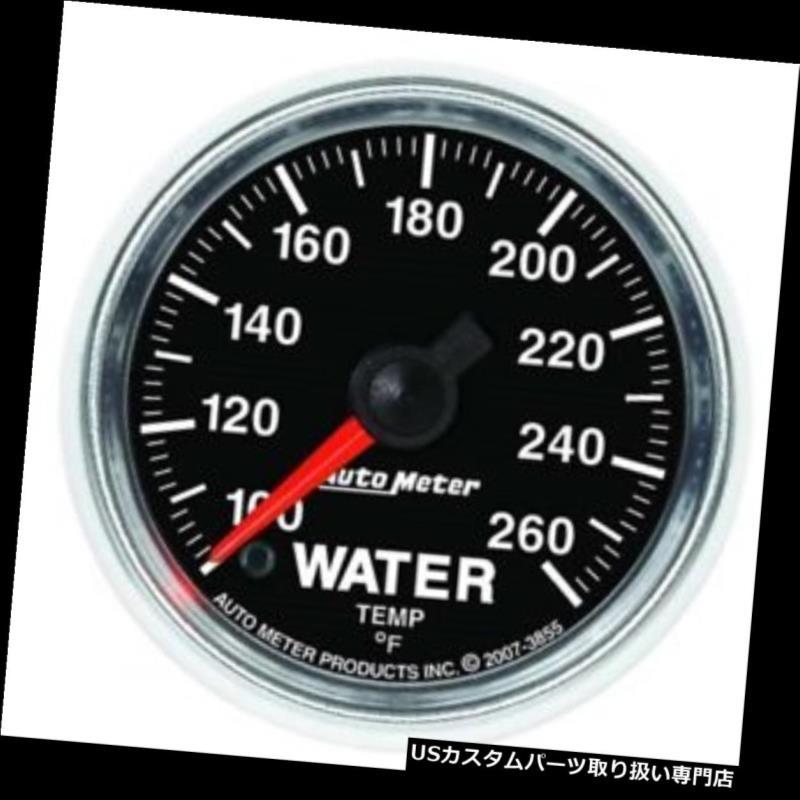 USタコメーター 自動メーター3855 GSデジタルステッピングモーター水温計 Auto Meter 3855 GS Digital Stepper Motor Water Temperature Gauge