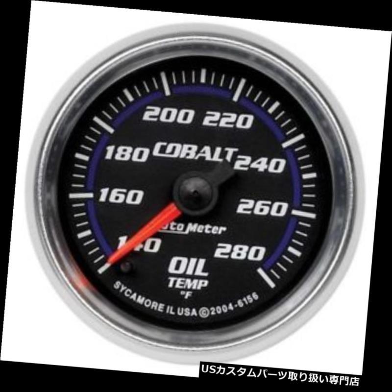 USタコメーター オートメーター6156コバルトデジタルステッパーモーター油温計 Auto Meter 6156 Cobalt Digital Stepper Motor Oil Temperature Gauge