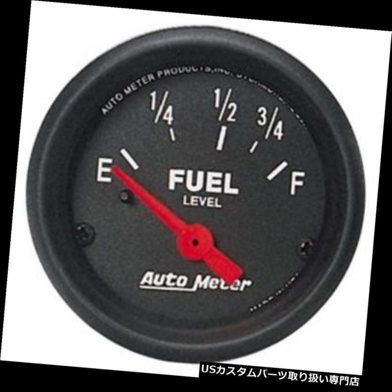 Auto Meter 1318 Arctic White Gauge Fuel Level