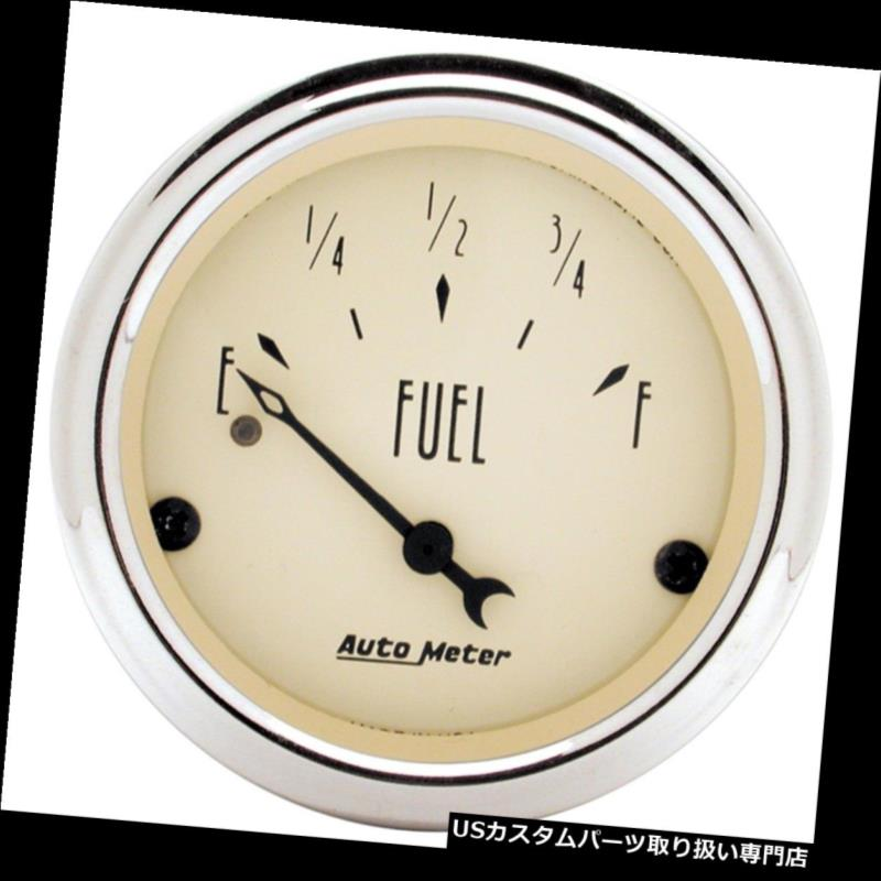 Auto Meter 2518 Traditional Chrome Electric Fuel Level Gauge