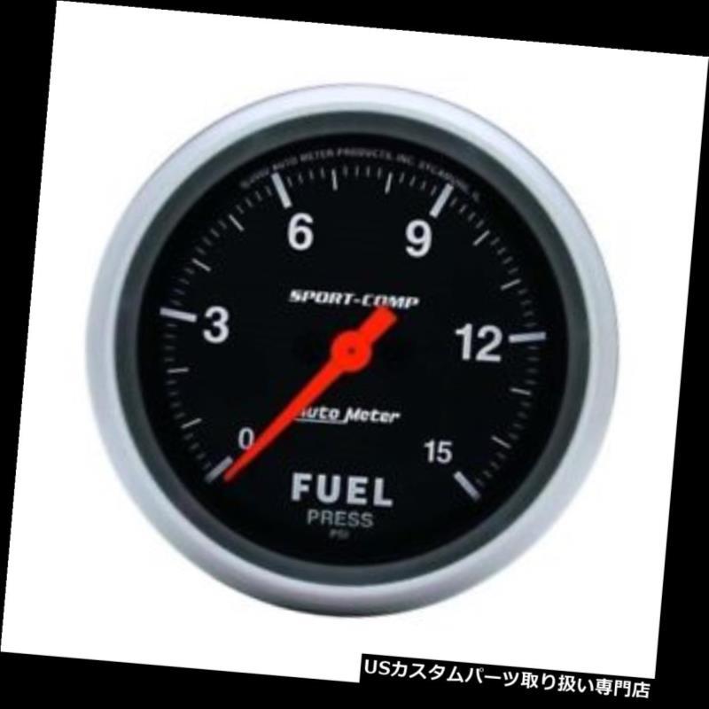 USタコメーター オートメーター3561スポーツコンプデジタルステッピングモーター燃料圧力計 Auto Meter 3561 Sport-Comp Digital Stepper Motor Fuel Pressure Gauge