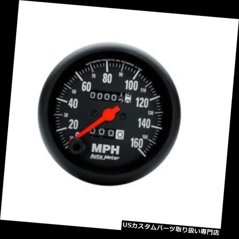 USタコメーター オートメーター2694 Zシリーズメカニカルスピードメーター、160 MPH、3-3 / 8インチ Auto Meter 2694 Z-Series Mechanical Speedometer, 160 MPH, 3-3/8 Inch
