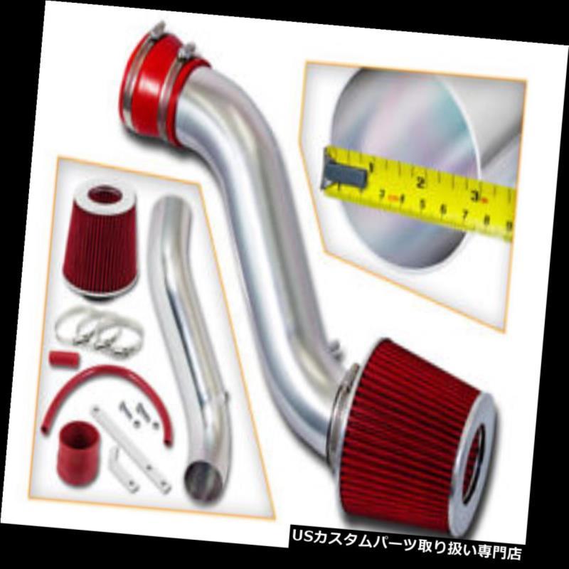 USエアインテーク インナーダクト BCP RED 93-98ジープグランドチェロキー5.2 5.9 V8ラムエアインテークキット+フィルター BCP RED 93-98 JEEP Grand Cherokee 5.2 5.9 V8 Ram Air Intake Kit + Filter