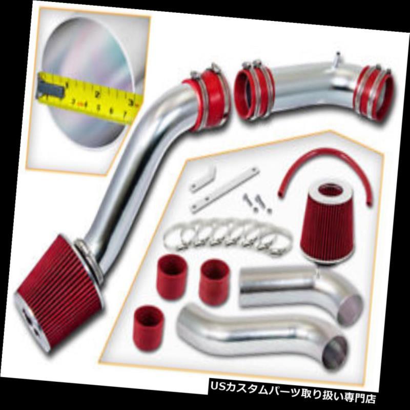 USエアインテーク インナーダクト BCP RED 90-97 Thunderbird 3.8L V6スーパーチャージャーなし edコールドエアインテークキット+フィルター BCP RED 90-97 Thunderbird 3.8L V6 Non-Supercharged Cold Air Intake Kit +Filter