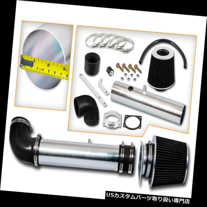USエアインテーク インナーダクト BCPブラック1997 1998 1999 2000 2000 F150 4.2L V6ショートラムエアインテークシステム+フィルター BCP BLACK 1997 1998 1999 2000 F150 4.2L V6 Short Ram Air Intake System + Filter