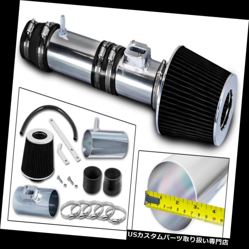 USエアインテーク インナーダクト BCP BLACK 2007-2013 Honda Odyssey Acura MDX 3.5 / 3.7 V6吸気キットフィルター BCP BLACK 2007-2013 Honda Odyssey Acura MDX 3.5/3.7 V6 Air Intake Kit+ Filter