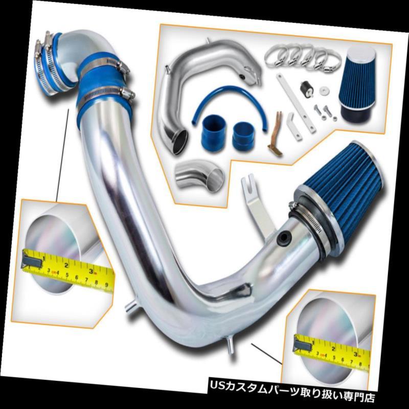 USエアインテーク インナーダクト BCP BLUE 03-05ネオンSRT-4 2.4Lターボコールドエアインテークキット+フィルター BCP BLUE 03-05 Neon SRT-4 2.4L Turbo Cold Air Intake Inducton Kit + Filter