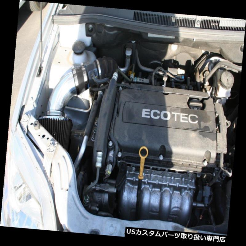 USエアインテーク インナーダクト BCPブラック09-11 CHEVY Aveo Aveo5 1.6L L4ショートラムエアインテーク+フィルター BCP BLACK 09-11 CHEVY Aveo Aveo5 1.6L L4 Short Ram Air Intake + Filter