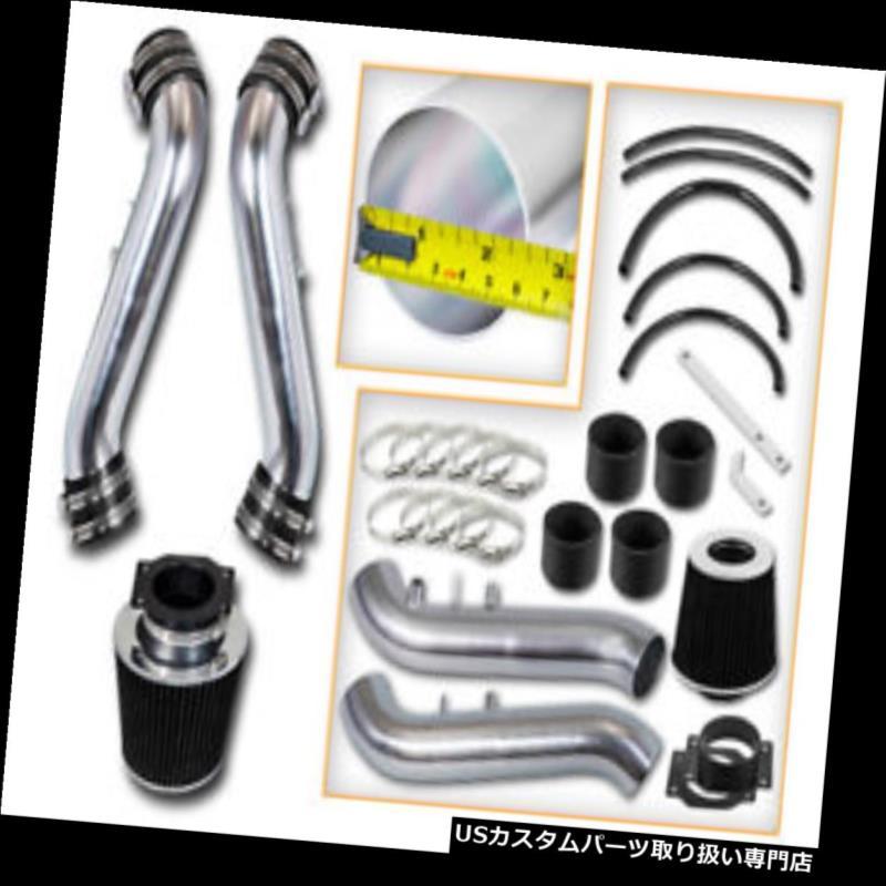 USエアインテーク インナーダクト BCP BLACK 90-96 300ZX非ターボNAショートラムエアインテークレーシングシステム+フィルター BCP BLACK 90-96 300ZX Non-Turbo NA Short Ram Air Intake Racing System + Filter