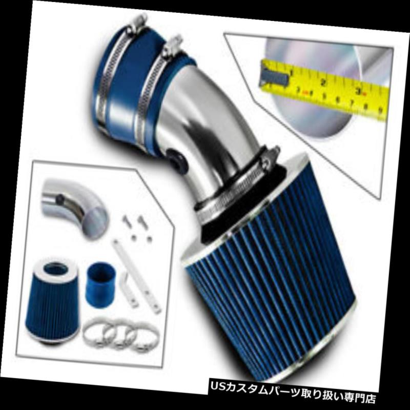 USエアインテーク インナーダクト BCPブルー97-05パークアベニューリーガルラサブル3.8L V6ラムエアインテークキット+フィルター BCP BLUE 97-05 Park Ave Regal LaSabre 3.8L V6 Ram Air Intake Kit + Filter